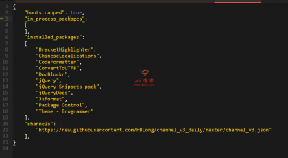 Sublime Text3 packagecontrol.io 无法访问的问题