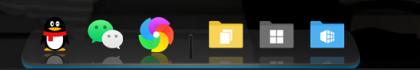 软媒魔方桌面绿色独立单文件版本